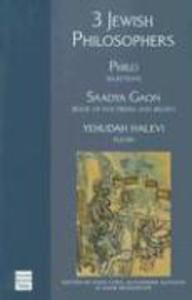 3 Jewish Philosophers als Taschenbuch