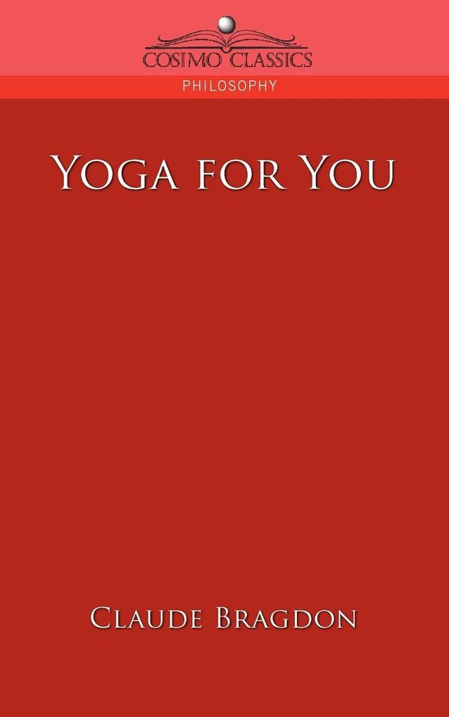 Yoga for You als Taschenbuch