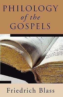 Philology of the Gospels als Taschenbuch