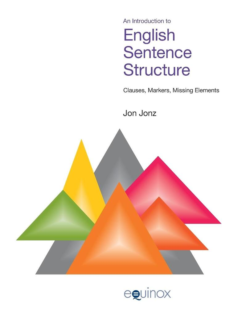 Introduction to English Sentence Structure als Buch