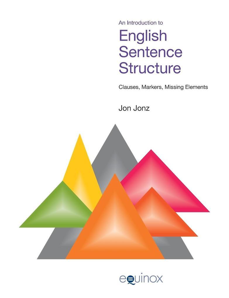 Introduction to English Sentence Structure als Taschenbuch
