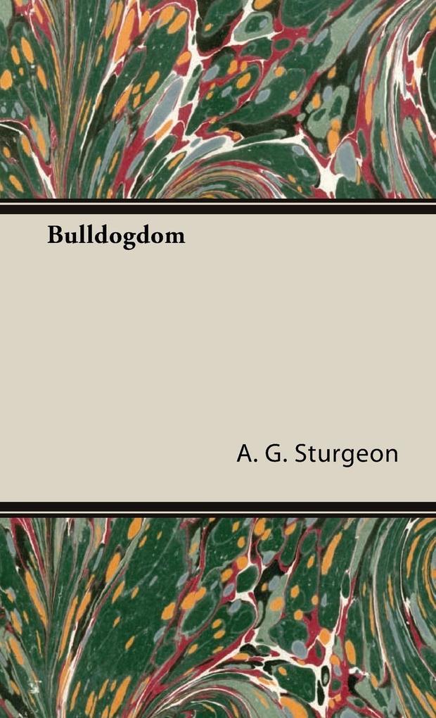 Bulldogdom als Buch