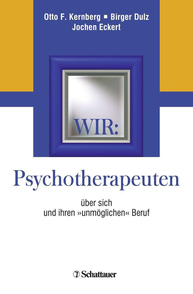 Wir: Psychotherapeuten als Buch