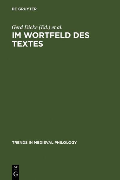 Im Wortfeld des Textes als Buch