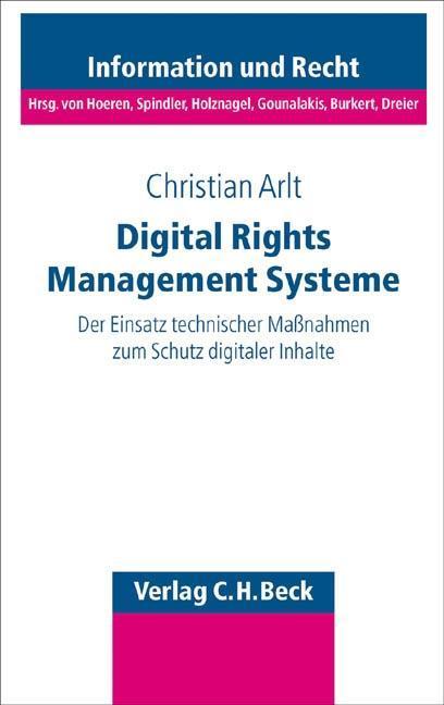 Digital Rights Management Systeme als Buch