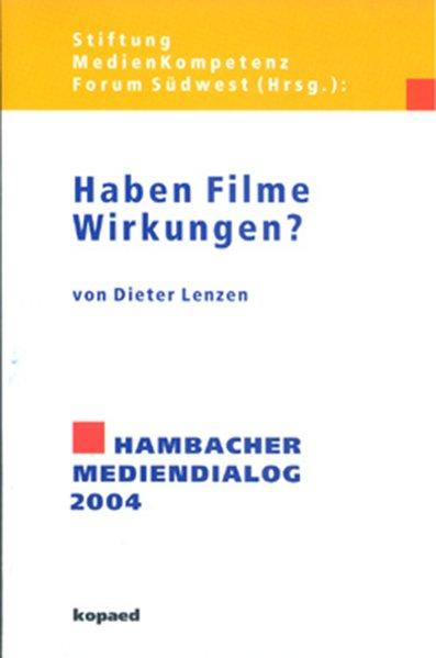 Haben Filme Wirkungen? als Buch