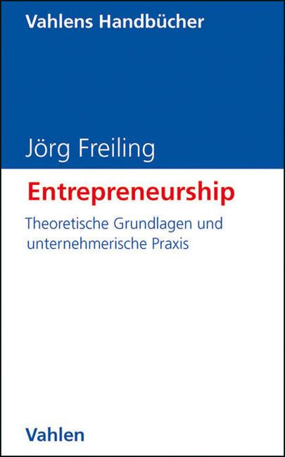 Entrepreneurship als Buch