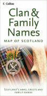 Clan and Family Names Map of Scotland als Buch