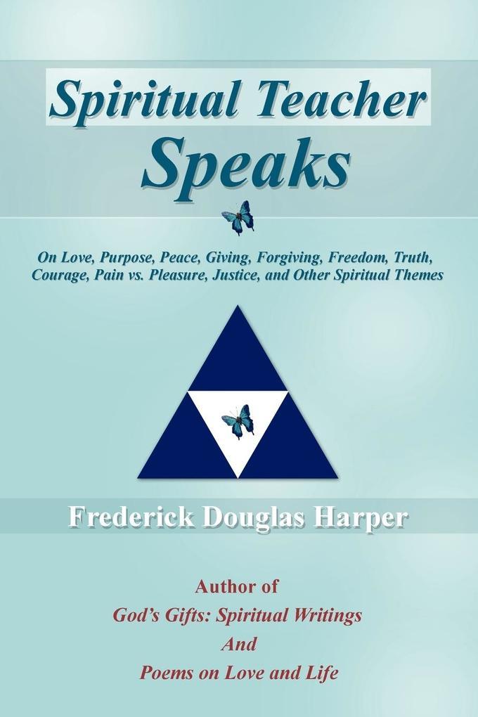 Spiritual Teacher Speaks als Taschenbuch