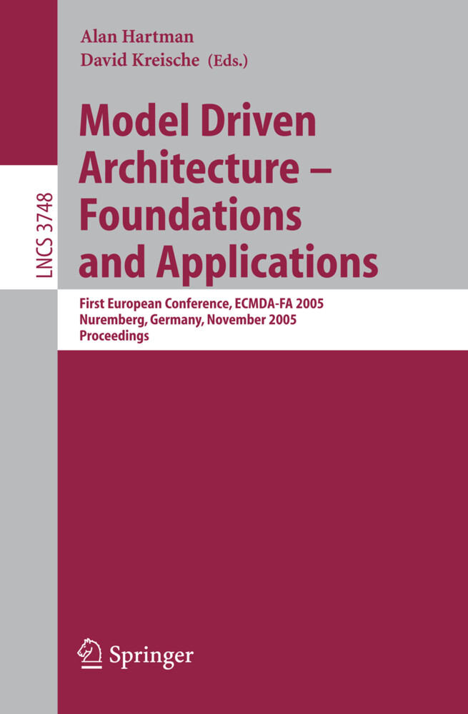 Model Driven Architecture - Foundations and Applications als Buch