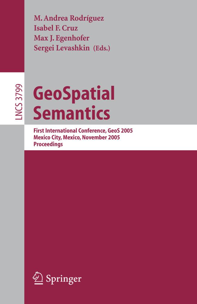 GeoSpatial Semantics als Buch