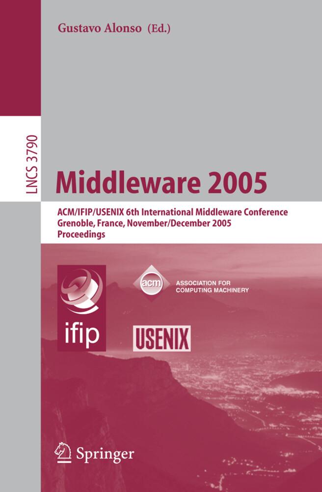 Middleware 2005 als Buch