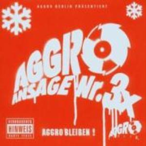 Aggro Ansage Nr.3 X als CD