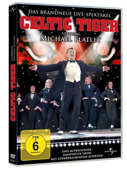 Michael Flatley - Celtic Tiger als DVD