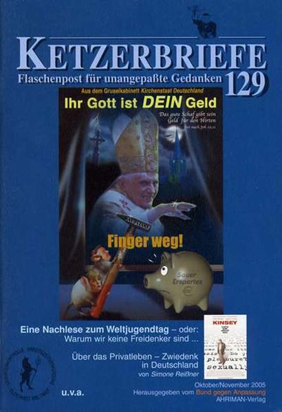 Eine Nachlese zum Weltjugendtag. Über das Privatleben - Zwiedenk in Deutschland als Buch