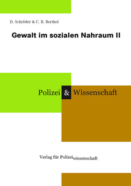 Gewalt im sozialen Nahraum II als Buch