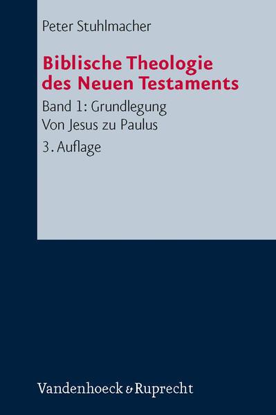 Biblische Theologie des Neuen Testaments 1 als Buch