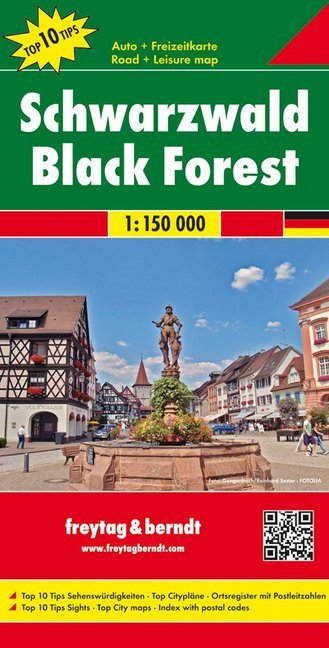Schwarzwald 1 : 150 000. Auto- und Freizeitkarte als Buch