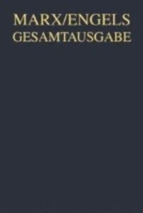 Ökonomische Manuskripte 1857/58 / Karl Marx Apparat als Buch