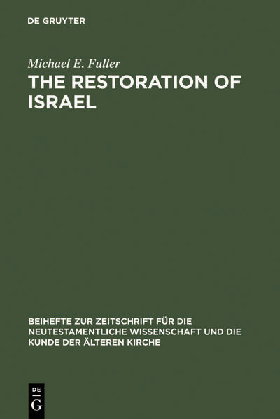 The Restoration of Israel als Buch
