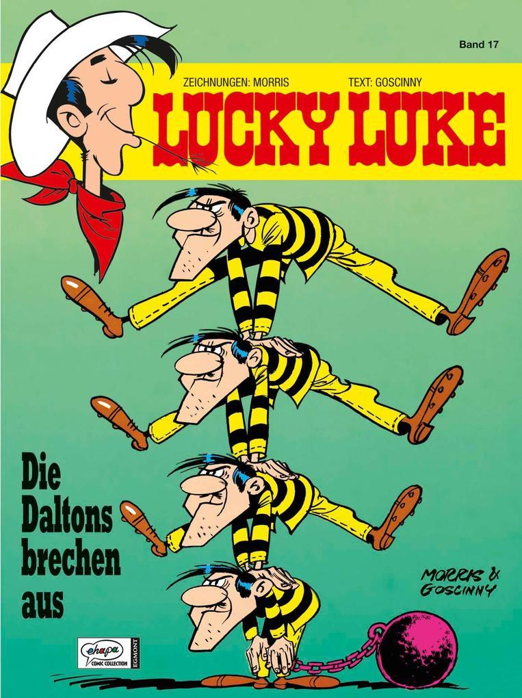 Lucky Luke 17 - Die Daltons brechen aus als Buch