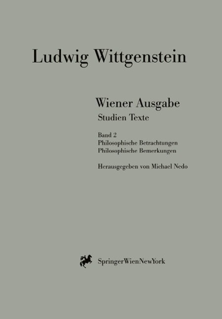 Wiener Ausgabe Studien Texte als Buch
