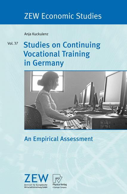 Studies on Continuing Vocational Training in Germany als Buch