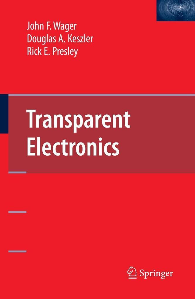 Transparent Electronics als Buch
