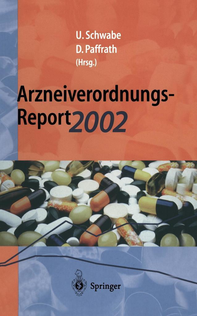 Arzneiverordnungs-Report 2002 als Buch