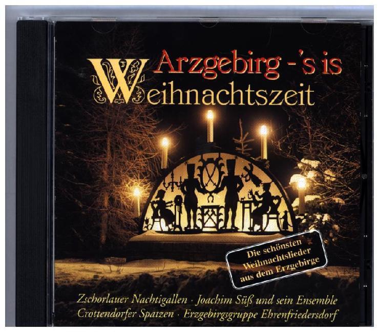 Arzgebirg-S'is Weihnachtszeit als CD