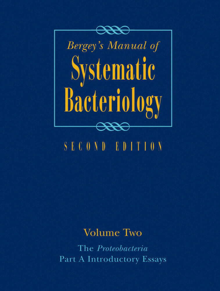 Bergey's Manual® of Systematic Bacteriology als Buch
