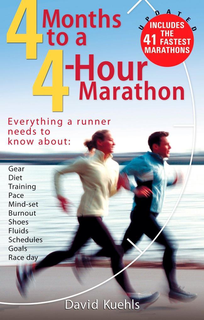4 Months to a 4 Hour Marathon als Taschenbuch