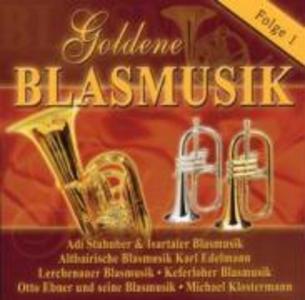 Goldene Blasmusik 1 als CD
