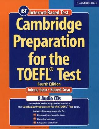 Cambridge Preparation for the TOEFL Test. 4 CDs als Hörbuch