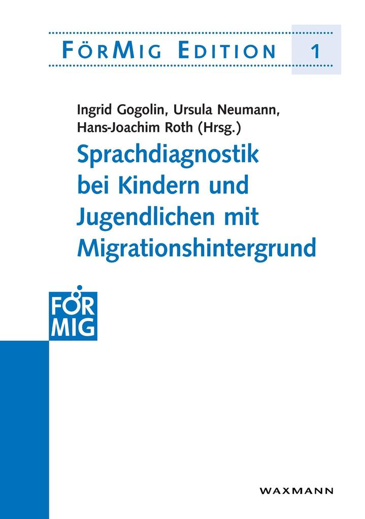 Sprachdiagnostik bei Kindern und Jugendlichen mit Migrationshintergrund als Buch