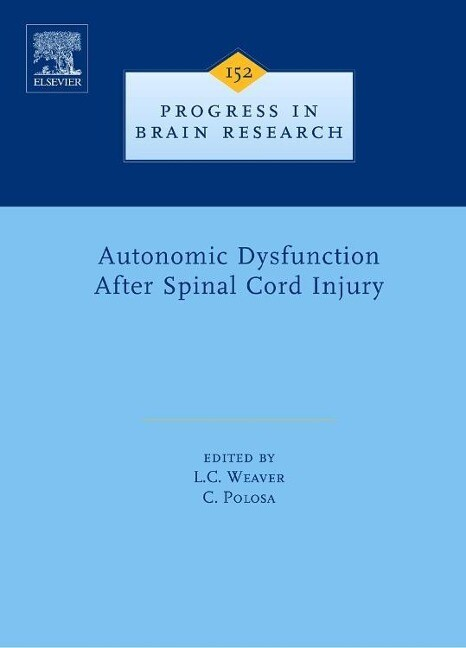 Autonomic Dysfunction After Spinal Cord Injury als Buch