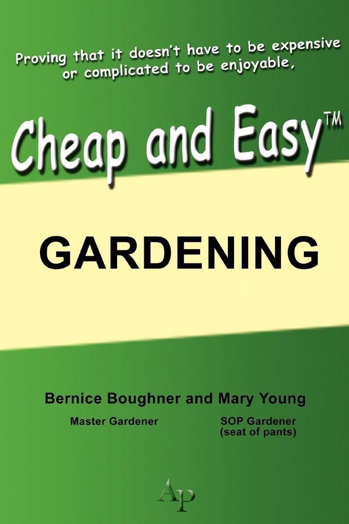 Cheap and Easy Gardening als Taschenbuch