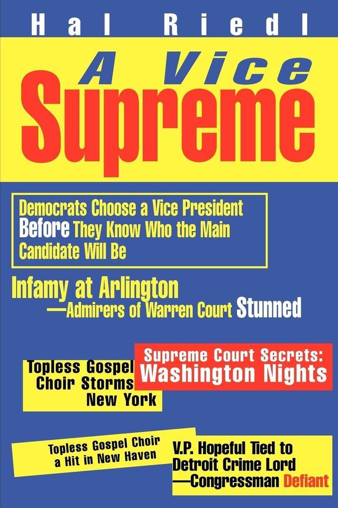 A Vice Supreme als Taschenbuch