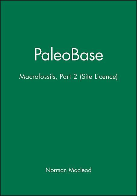 Paleobase: Macrofossils, Part 2 (Site Licence) [With Instruction Booklet] als Spielwaren