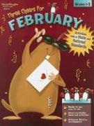 3 CHEERS FOR FEBRUARY GRD 1-2 als Taschenbuch