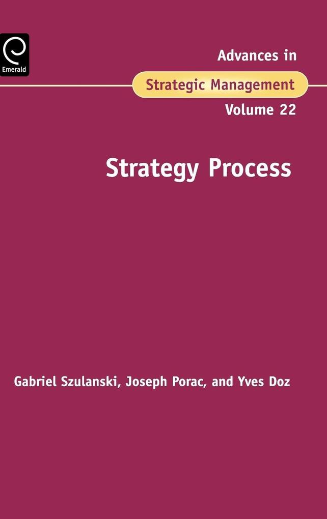 Strategy Process als Buch