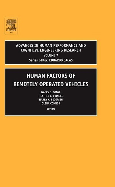 Human Factors of Remotely Operated Vehicles als Buch
