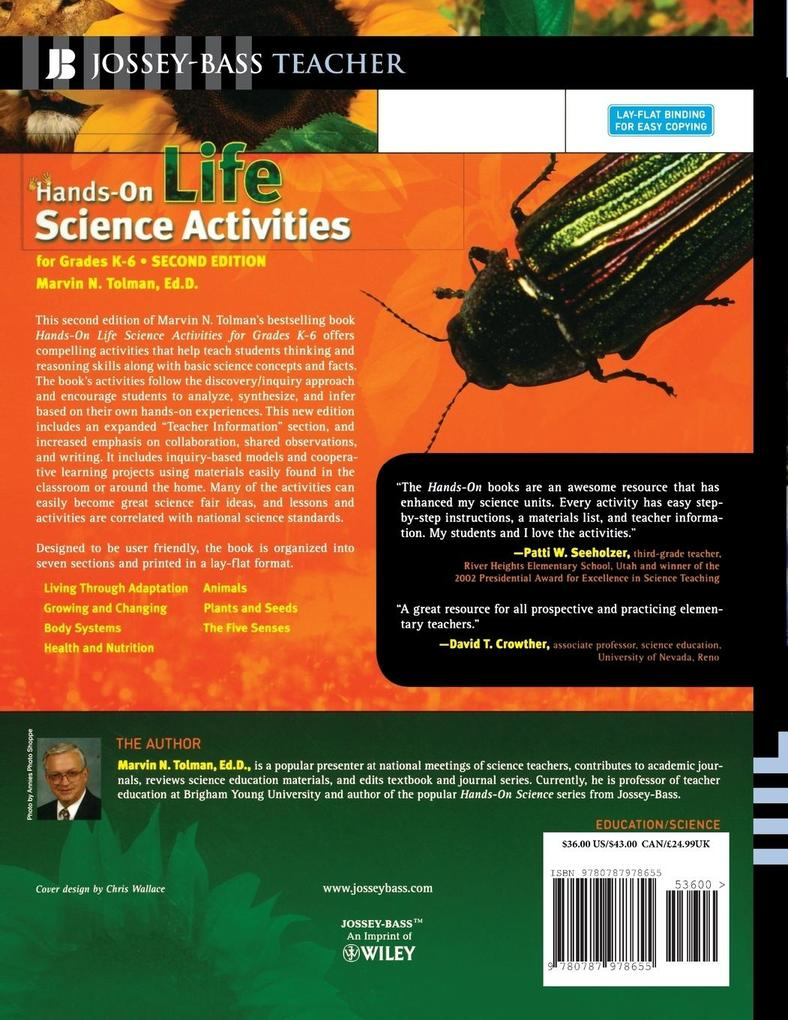 Hands-On Life Science Activities for Grades K-6 als Taschenbuch