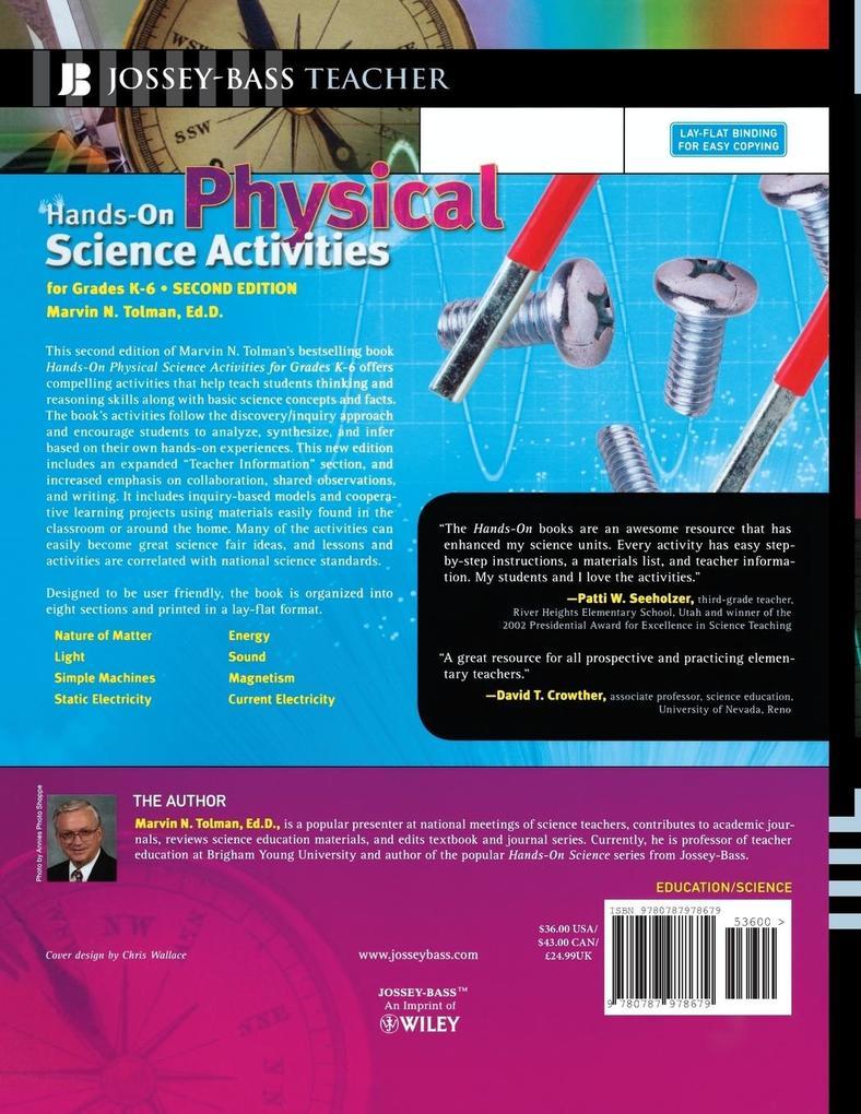 Hands-On Physical Science K-6, als Taschenbuch