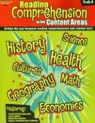 Reading Comprehension in the Content Areas Grade 4 als Taschenbuch