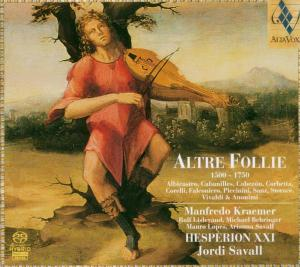 Altre Follie 1500-1750 als CD