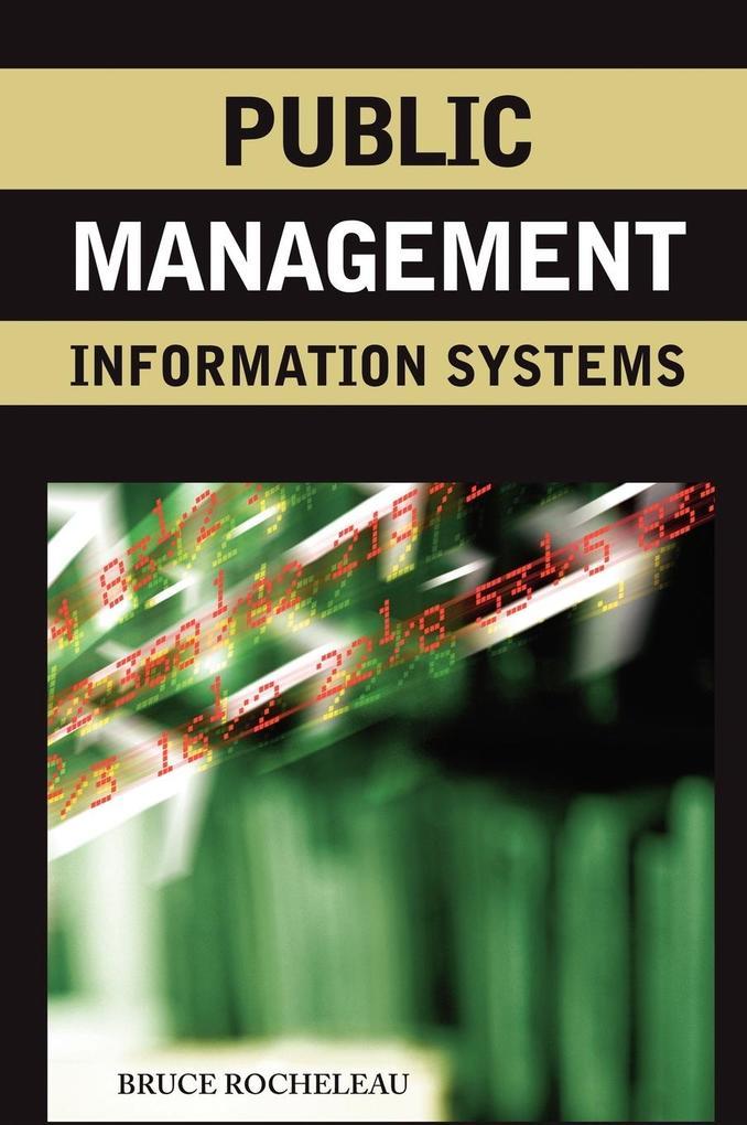 Public Management Information Systems als Buch
