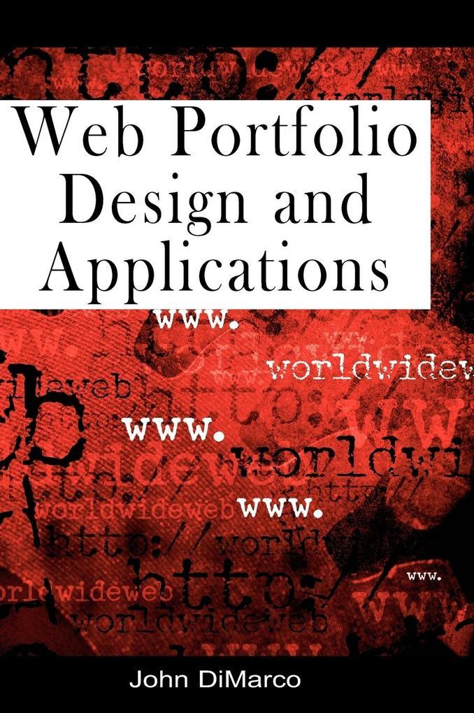 Web Portfolio Design and Applications als Buch