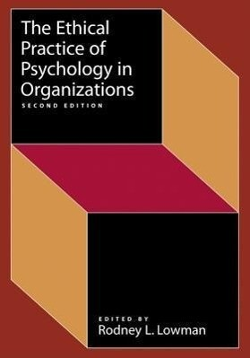 Ethical Practice of Psychology in Organizations als Taschenbuch