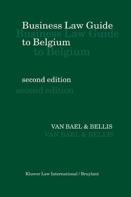 Business Law Guide to Belgium als Buch